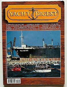 Yacht Digest Rivista 95 / 1999 Barche d'epoca Modellismo Design Pirati Uscocchi