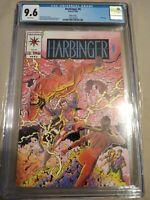 Harbinger #0 cgc 9.6