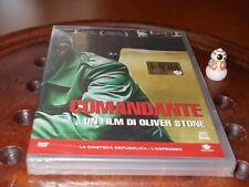 COMANDANTE FIDEL CASTRO Oliver STON Editoriale  Dvd ..... Nuovo