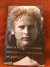 SIGNED IN PERSON ART GARFUNKEL What Is It All but Luminous HCDJ 1ST/1ST
