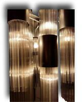 Lampadario originale gaetano sciolari 180 canne vetro vintage modernariato
