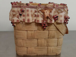 Basket Type HeavyTissue Cover--Resin-Sturdy