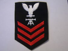 USN MALE RATING BADGE FT1 FIRE CONTROL TECHNICIAN FOR BLUES E-6
