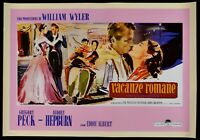 Werbeplakat Vermietungen Romane Piaggio Vespa Audrey Hepburn Gregory Peck B