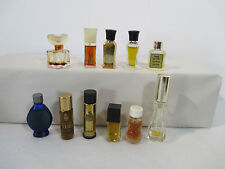 Miniature Perfume Bottles Boujous Giorgio Ma Griffe Lavin Emeraude Lot of 11