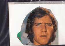 ALAN BALL - ARSENAL & ENGLAND HAND SIGNED MOUNTED MAGAZINE PICTURE