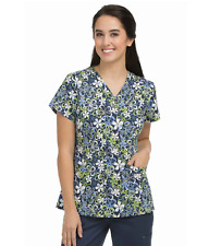{XL} Med Couture MC² Summer Fun Niki Scrub Medical Top (8479SMFN)