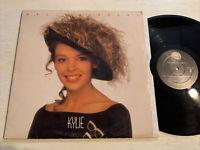 Kylie Minogue Kylie Self Titled S/T LP Geffen 1988 + Lyric Inner VG+!!!!