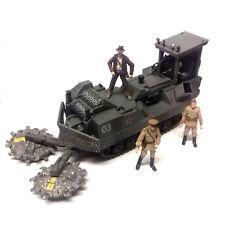 "lucasfilm Indiana Jones Raiders Movie FOREST CRUSHER Vehicle 3.75"" figures toy"