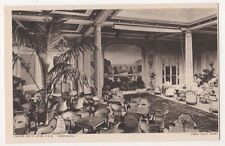 RMS Berengaria Cabin Palm Court Shipping Postcard, B655