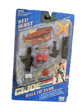 New in Package GI Joe  Red Beret Weapons Arsenal Hall of Fame