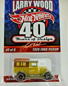 Hot Wheels RLC 2009 29 Ford Pickup, Larry Wood 40 Years of Design, Real Riders