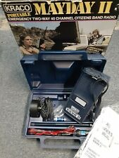 New In Original Box Kraco Mayday Ii Emergency Two Way 40 Channel Cb Radio