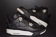 Nike Air Jordan Retro 4 Oreo Sz 6.5Y alternate 89 cement fire military pink bred