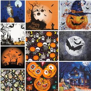 Decoupage Halloween Napkins x 4 Bats Ghouls Pumpkin 3Ply Napkin DISCOUNTS AVAIL