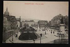 Carte postale ancienne CPA animée CLERMONT-FERRAND - Place de Jaude