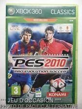 OCCASION: Jeu classics PES 2010 xbox 360 microsoft game francais foot football