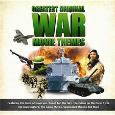 GREATEST ORIGINAL WAR MOVIE THEMES CD - FREE POST IN UK