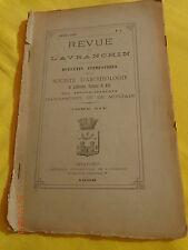 REVUE DE L'AVRANCHIN T 14 N° 4 1908 AVRANCHES pendant la Révolution / Manche