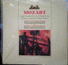 Mozart/Oistrakh/Geuser/Fricsay  Violin Concerto; Clarinet Concerto  Heliodor