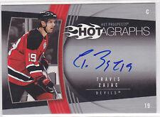 2006 06-07 Hot Prospects Hotagraphs #HTZ Travis Zajac Autograph