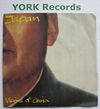"""JAPAN - Visions Of China - Excellent Condition 7"""" Single Virgin VS 436"""