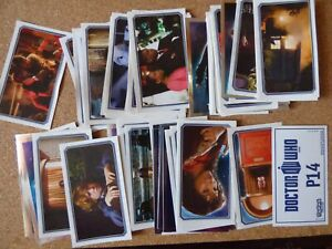 TOPPS DOCTOR WHO STICKERS (BLUE BACKS) JOB LOT x 77