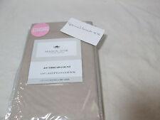 Westpoint Linen Maison D'or Tan/Beige 2 Standard Pillowcases - Egyptian Cotton