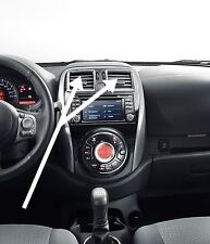 Nissan Micra K13 (06/2013-) interior chrome inserts gear air vents KE600-3H101
