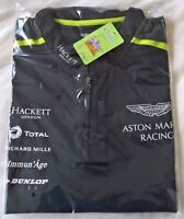 NEW 2017 ASTON MARTIN RACING TEAM ISSUE TEST POLO Size XS NAVY  WEC Le MANS