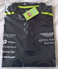 NEW 2017 ASTON MARTIN RACING TEAM ISSUE TEST POLO Size MEDIUM NAVY  WEC Le MANS