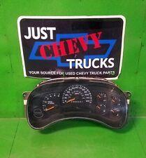 06 to 07 Classic Chevy Silverado GMC Sierra 2500 Speedometer Gauge Cluster 102K