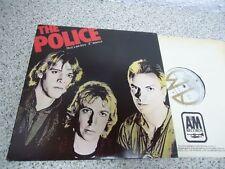 LP THE POLICE - Outlandos D'Amour AM REC CANADA