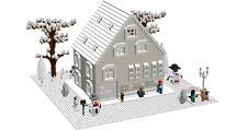 Lego Custom Instruction WINTER HOUSE ( instruction only)