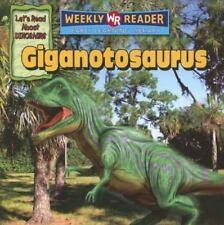 Giganotosaurus [Let's Read About Dinosaurs] Mattern, Joanne Good Book 0 Pape
