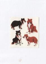 Vintage Sandylion Fuzzy Dog Puppy Stickers Pet Labrador Retriever - You Choose