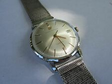 RARE AUTHENTIC ORIGINAL VINTAGE GIRARD-PERREGAUX GYROMATIC AUTOMATIC WATCH