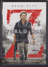 World War Z (DVD, 2013, Canadian)