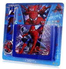 Spiderman Children's Watch Wallet Set For Kids Boys Girls Christmas Gift