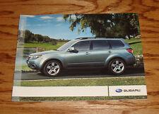 Original 2009 Subaru Forester Sales Brochure 09