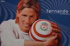 Fernando Torres-POSTER a3 (ca 42 x 28 cm) - CALCIO skinning fan Raccolta Nuovo