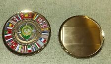 Supreme Headquarters Allied Powers Europe Belgium Challenge Coin