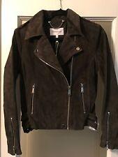 SCB Generation Ladies Leather Jacket Hunter Green Size M