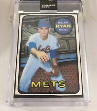 Nolan Ryan Joshua Vides Topps Rookie Project 2020 New York Mets #87 New Mmxx 69
