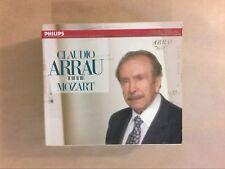 RARE COFFRET 7 CD / CLAUDIO ARRAU / MOZART COMPLETE PIANO SONATAS / BON ETAT