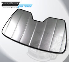 Leatherette Custom Fit SunShade Windshield Visor For Ford Focus MK3 11-18