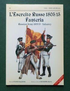 De Bello Series #04 - Russian Army 1805/15 Infantry - L'Esercito Russo 1805/15