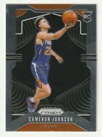 2019-20 Panini Prizm Base Rookie RC Cameron Johnson Phoenix Suns #257 HOT