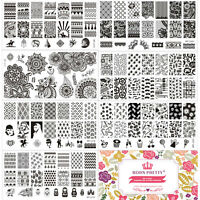Nail Art Stamp Stamping Plate Template Image Manicure BORN PRETTY L-Series