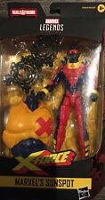 "Hasbro Marvel Legends Deadpool 6"" Sunspot Action Figure"